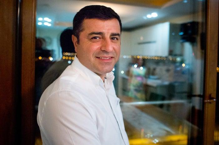 Demirtas, at his residence in Diyarbakir.