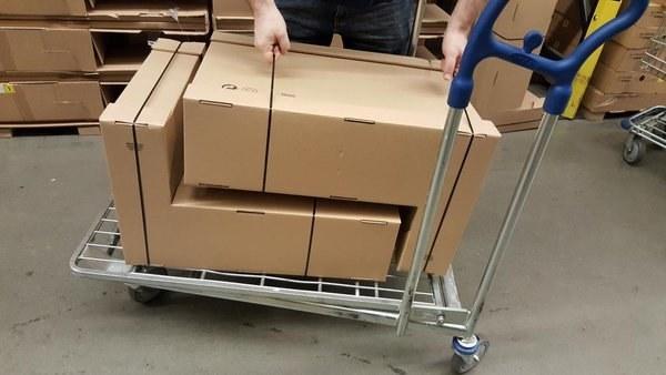 Y oh por Dios, estas cajas.