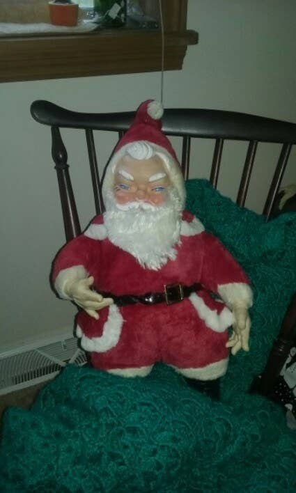 """""""I'm convinced he's going to murder us all during our Christmas dinner.""""—allisone4"""
