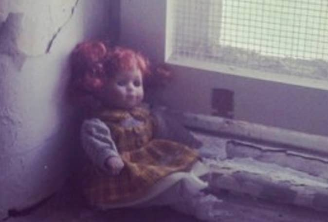"""""""I went to the Trans-Allegheny Asylum in West Virginia and saw this… I left unknowingly biting my lower lip and bug-eyed.""""—John Brennan"""