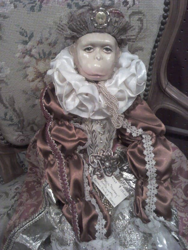 """""""The tag reads: 'Marie Monkey Antoinette.'""""—ginger9077"""