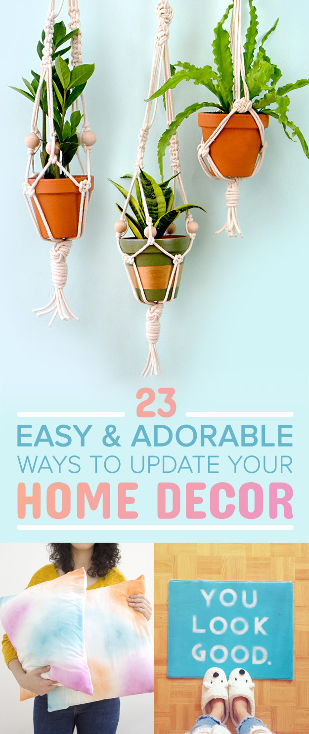 23 diy ways to make your home even cuter for Home decor quiz buzzfeed