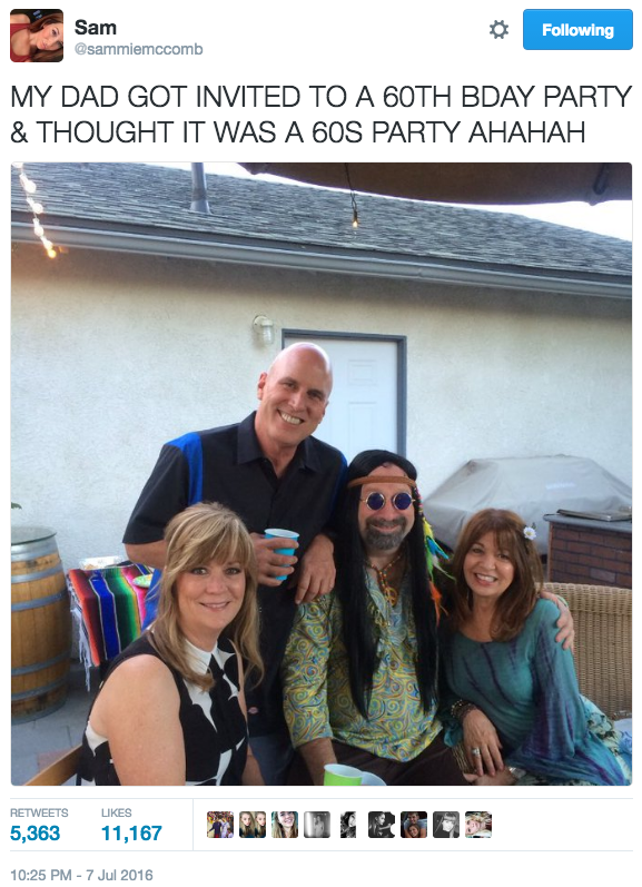 This Dad Made A Ridiculously Funny Mistake At A Birthday Party