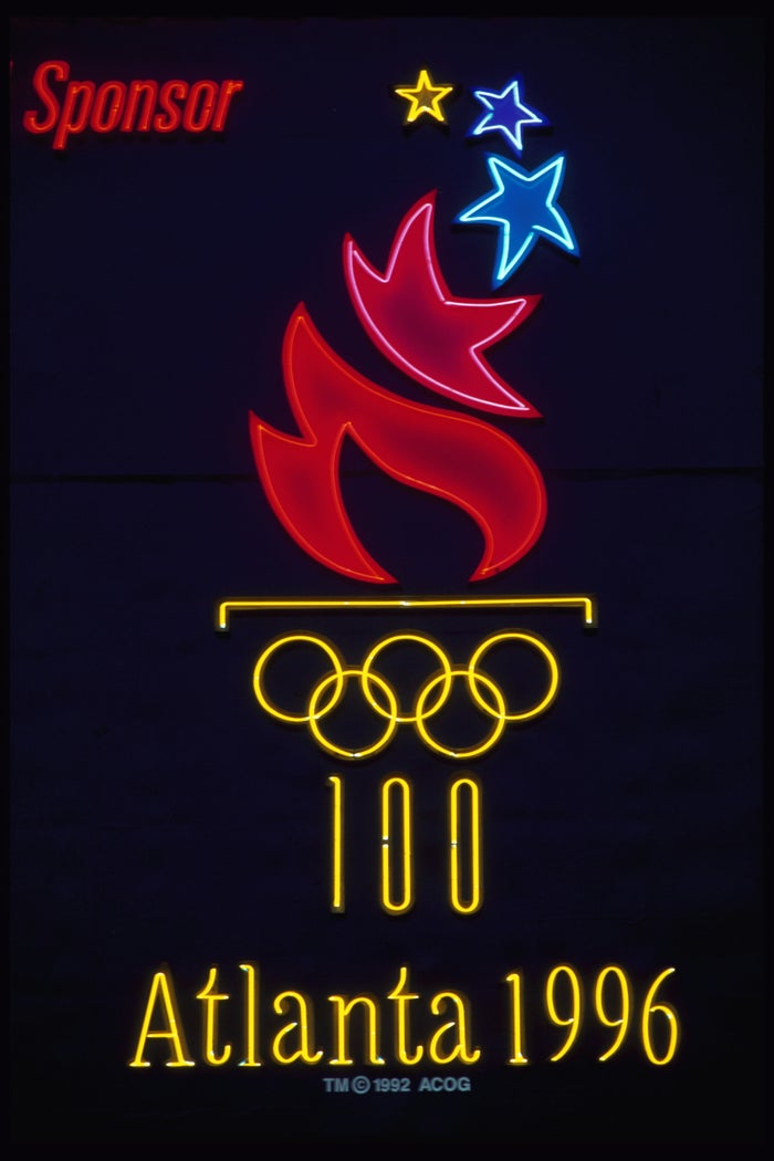 Atlanta beat out Greece for the '96 Games in a 51–35 vote by the International Olympic Committee.