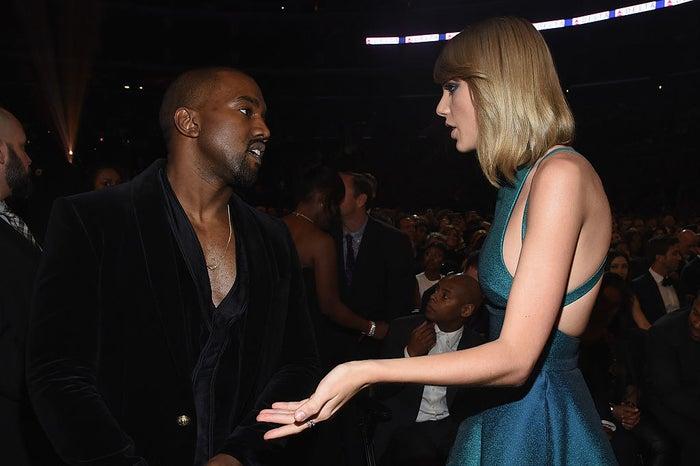 """Son attaché de presse expliquait à l'époque que «Kanye n'avait pas appelé [Taylor] pour faire valider la chanson mais pour lui demander de faire la promotion du titre sur son compte Twitter. Elle a refusé et l'a mis en garde contre la sortie d'une chanson au message si misogyne. Taylor n'a jamais été mise au courant de cette phrase de la chanson, """"J'ai rendu cette salope célèbre"""".»"""