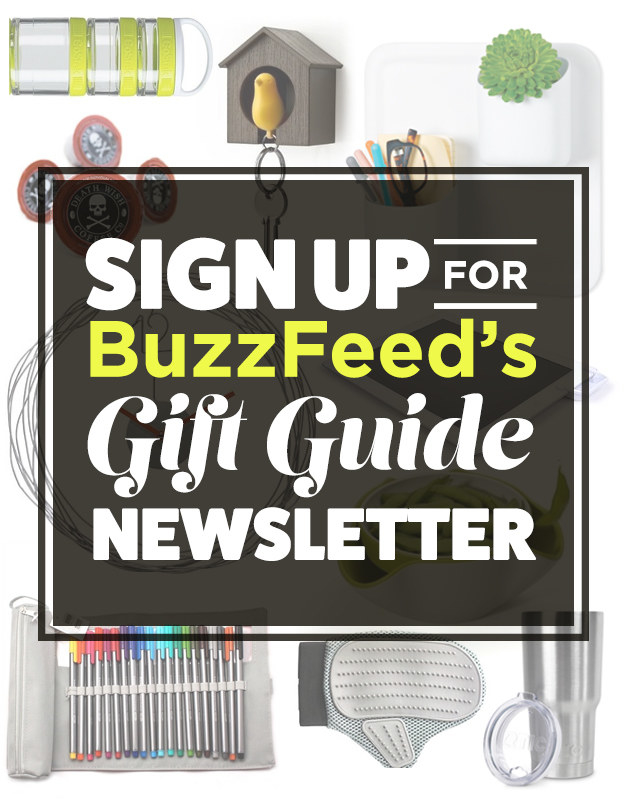 """Sign Up For Our """"Gift Guide"""" Newsletter For Great Product Recommendations!"""