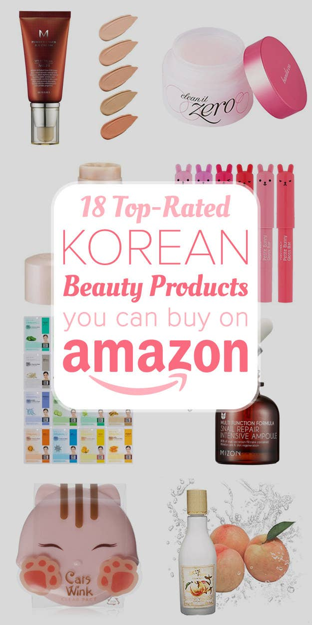 21 Of The Best Korean Beauty Products You Can Buy On Amazon