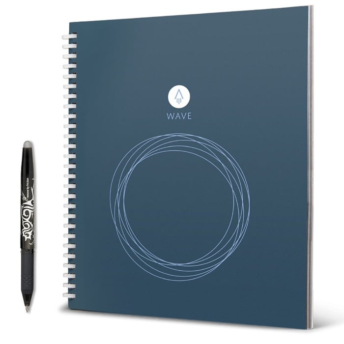 Running out of clean pages? Just run it through the microwave it to make it blank again. Get it here.