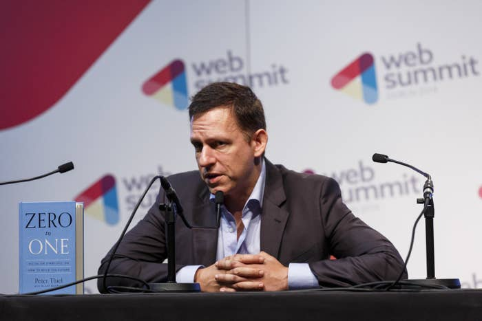 Confidential Document Shows How Peter Thiel Really Feels