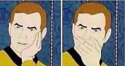 Cuando te cuentan un chisme que ya sabías porque estuviste de stalker.