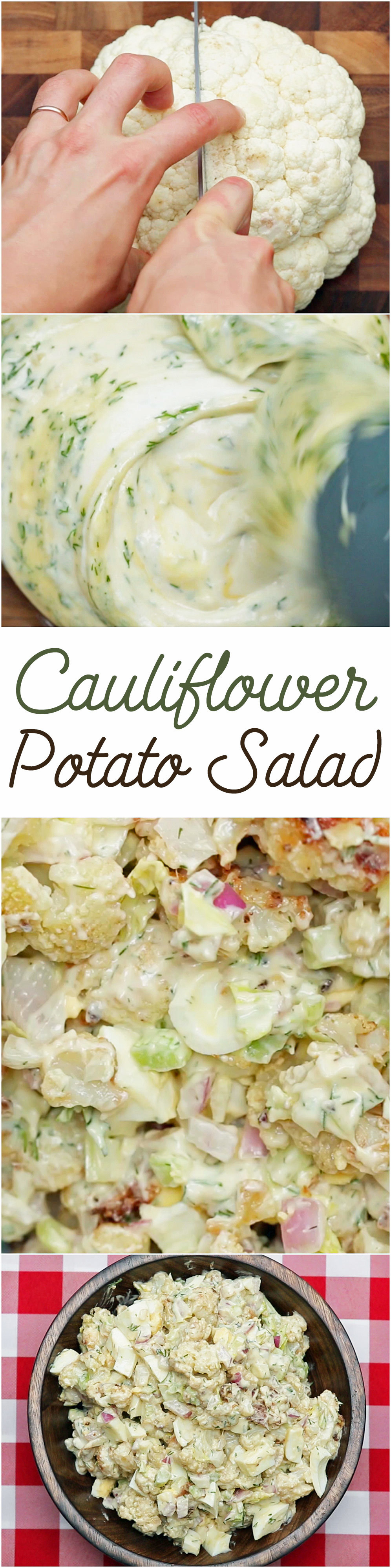 Here's Why Cauliflower Is The Best Addition To Potato Salad