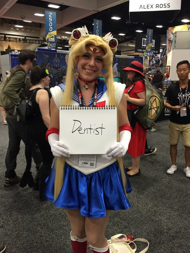 18 Photos Of Cosplayers Revealing Their Day Jobs That Might Surprise You