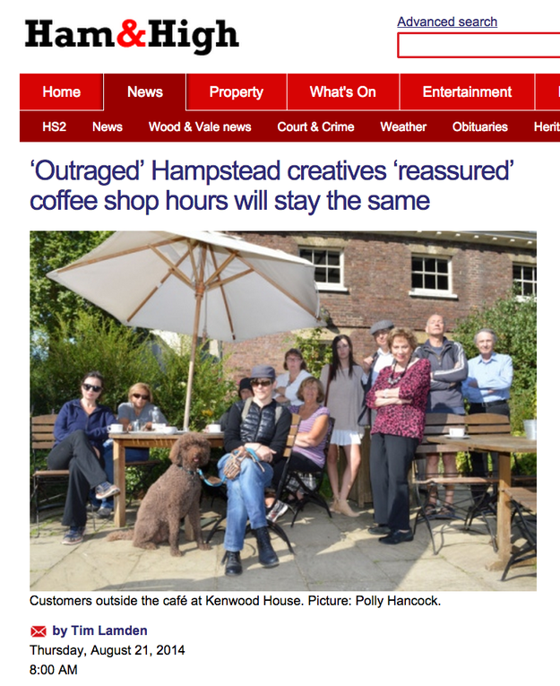 I don't know about you, but I don't trust these Hampstead creative types. We need more information here, and we can't trust the media to bring it to us!