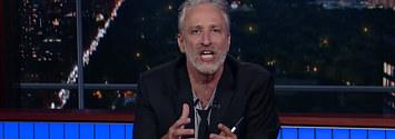 Jon Stewart Has Returned With A Rant About Fox News And Donald Trump