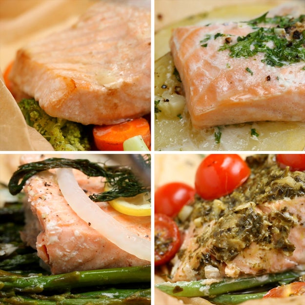 Here S Four Ways To Make Salmon For Dinner