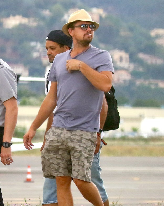 Here's Leonardo DiCaprio Lookin Fly As Heck In A Hat
