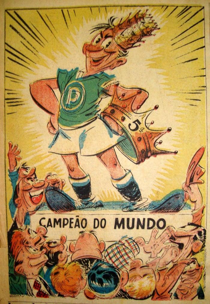 Taça Cidade de São Paulo de 1950; Paulista de 1950; Torneio Rio-São Paulo de 1951; Taça Cidade de São Paulo de 1951; e Copa Rio de 1951.
