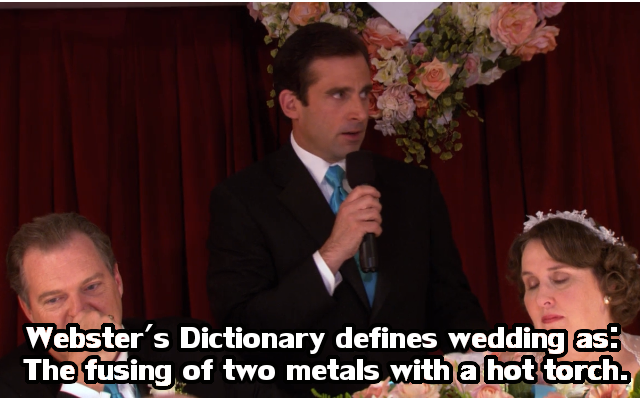 The Office Meme about Phillis Wedding