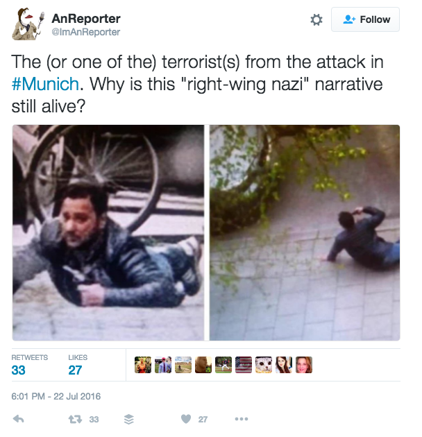 People are sharing this photo and claiming that it shows a shooter.
