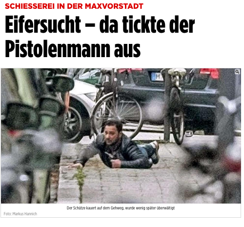 The photo is from April, as shown by this report from Bild, a German newspaper:
