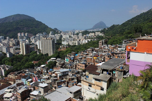 There are more than 1000 favelas in Rio de Janeiro alone that hold more than 20% of the city's population. Just to give a sense of scale, that is over a MILLION people. Favelas come in all shapes and sizes and have incredibly rich histories. Favelas like Rocinha, City of God, Complexo de Alemão (German Complex) or Maré have tens of thousands of people within them and can have smaller subsections that indicate neighborhoods within neighborhoods. Others are smaller and are small enough where everyone knows each other. In the touristy South Zone, almost all of the favelas are on very steep hills that rise over the city, but in the North Zone and West Zones of the city (which are much larger) the land is flatter, which means they are built differently and have different assets and challenges.