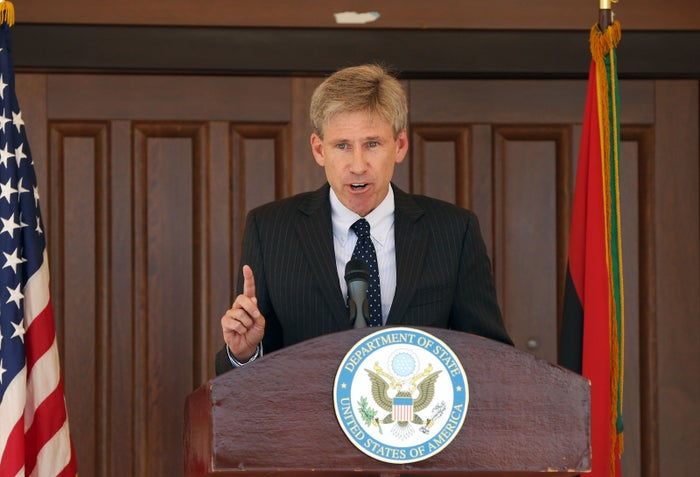 Ambassador Chris Stephens in 2012.