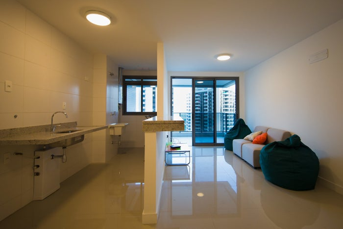 One of the units within the Olympic and Paralympic Village for the 2016 Rio Olympic Games.