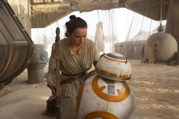 Our new Star Wars heroine, Rey, is brave, extremely intelligent, and kicks butt when necessary. Most importantly, she's given the millions of little girls who saw The Force Awakens an amazing female role model.