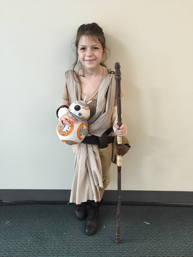 And this weekend at San Diego Comic-Con, little girls got to dress up as a Star Wars character they love and identify with.