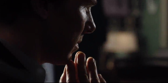 Sherlock is back, rocking some tortured stubble, and generally questioning everything.