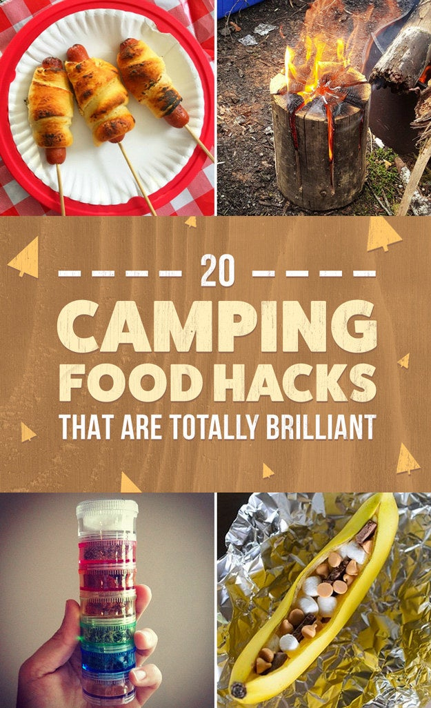 20 Camping Food Hacks That Will Blow Your Mind