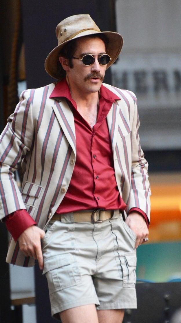 "Jake Gyllenhaal's Mustache Steals The Show On The Set Of ""Okja"""