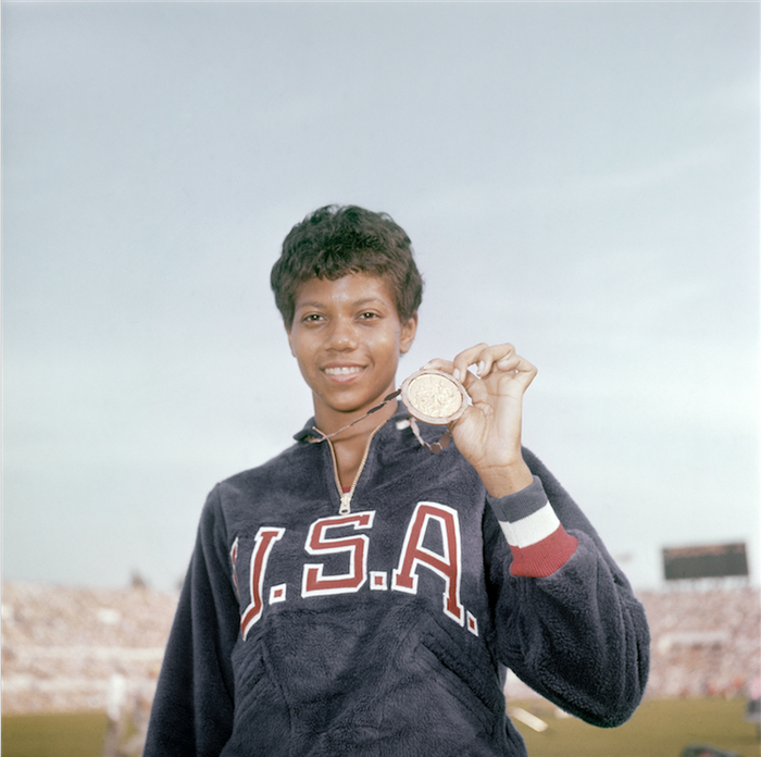 "Wilma Rudolph, once referred to as the ""Fastest Woman In The World,"" became the first woman to win three track and field gold medals in one Olympics. During the 1960 Summer Olympics in Rome, she won gold medals for the 100-meter and 200-meter sprints–and brought the US a gold for the 4x100-meter relay."