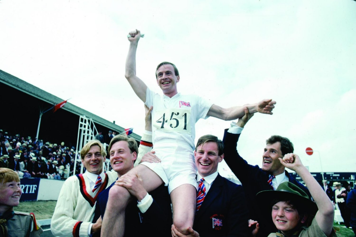 Winner of four Academy Awards, including Best Picture, Chariots of Fire tells the story of two dedicated young athletes training for the 1924 Paris Olympics in the religiously divided United Kingdom. The inspiring film is based on the real-life stories of runners Eric Liddell, a Scottish Christian whose faith is the driving force behind his quest, and Harold Abrahams, an English Jew running to rise above anti-Semitism. Also, it's where that song that is used in pretty much every slow-motion parody sequence came from.