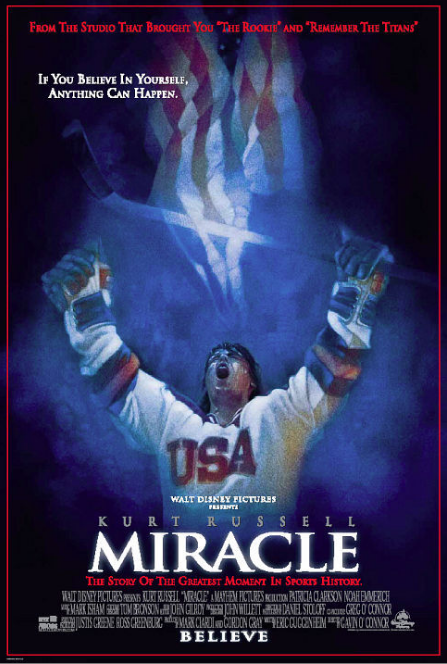 """Another rousing tale based on the true story of the 1980 USA Olympic men's ice hockey team and the unbelievable journey that led them to (spoiler alert) triumph over the unstoppable Soviet team in the final match, which became known as the """"Miracle on Ice."""" Required viewing for anyone who gets even a bit choked up at hearing """"The Star-Spangled Banner"""" every time Team USA wins a gold medal."""