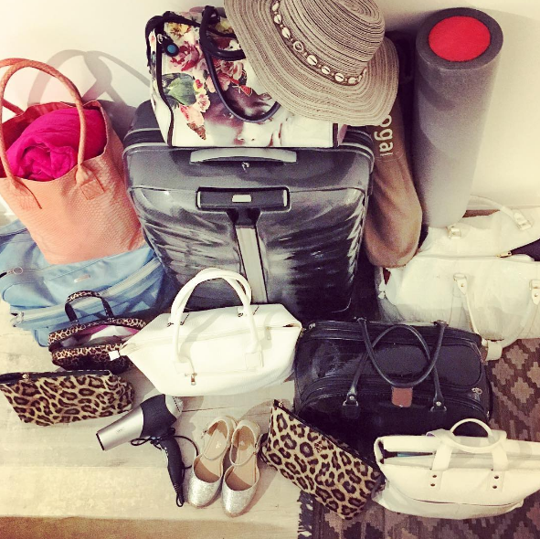 You don't know what packing lightly means (even if you're not going on vacation).