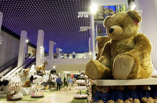 """One of America's most iconic shopping spaces, the former FAO Schwarz toy store in Manhattan, is set to become a giant Under Armour store, which the company aims to turn into the """"single greatest retail store in the world."""""""