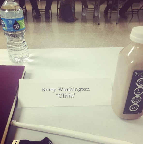 It looks like they had their first table read of the season.
