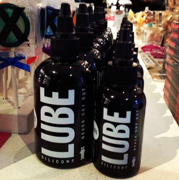 And definitely, definitely do not forget lube.