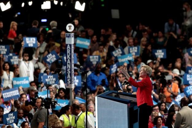 Elizabeth Warren Fans Tell Bernie Booers To Get Over It
