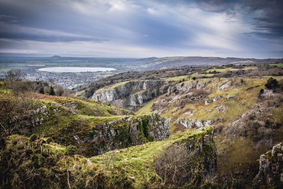 Cheddar Gorge, England