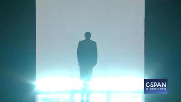 Elizabeth Banks Parodied Donald Trump's RNC Entrance At The DNC