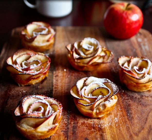 Apple Flower Tarts
