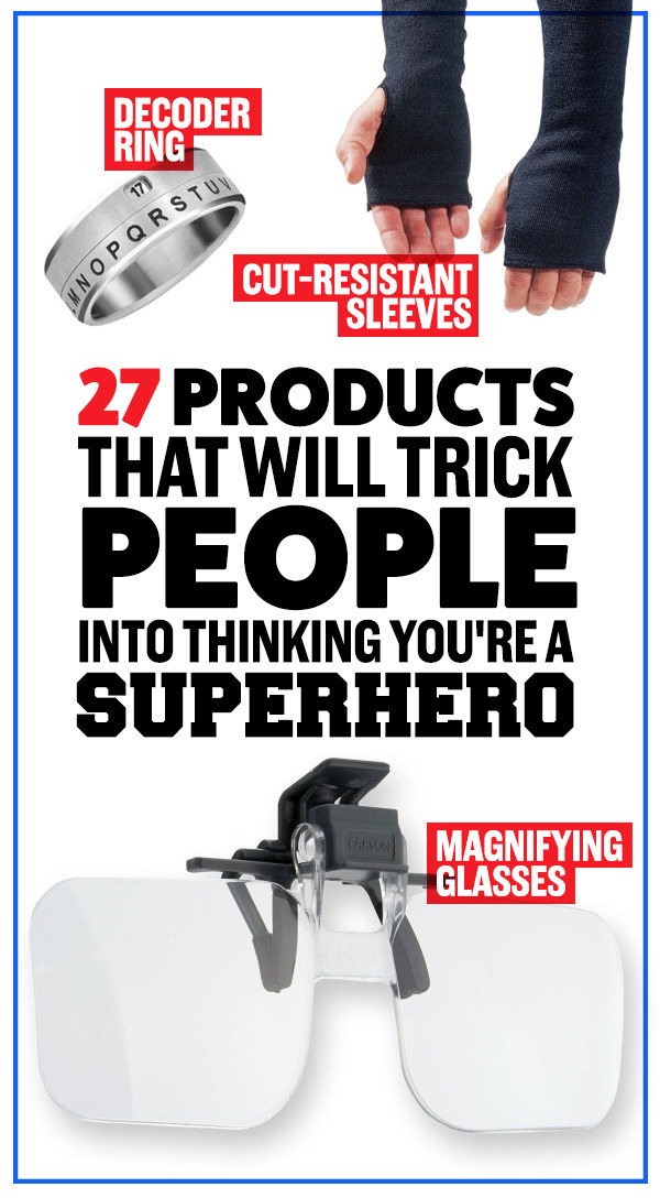 27 Products That Will Trick People Into Thinking You're A Superhero