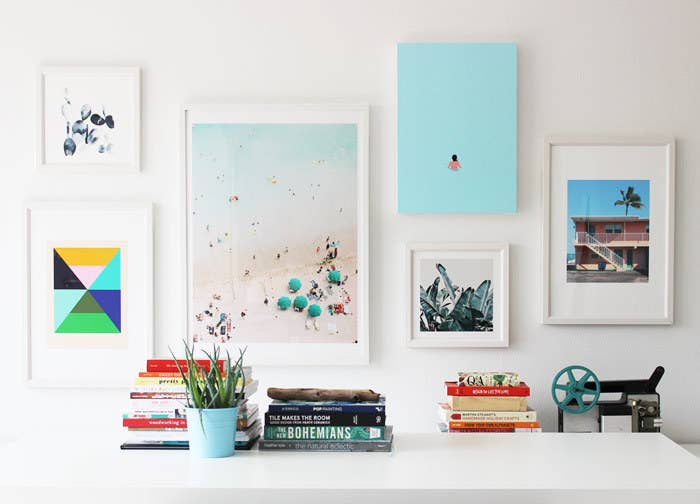 Find out how to curate and hang your own gallery wall.