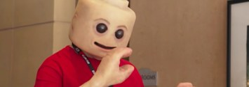 Someone Put Human Skin On A Lego Person And It's Fucking Terrifying