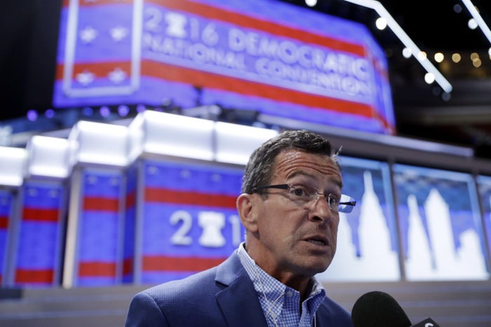 Connecticut Gov. Dannel Malloy, co-chair of the Democratic Party's platform committee.