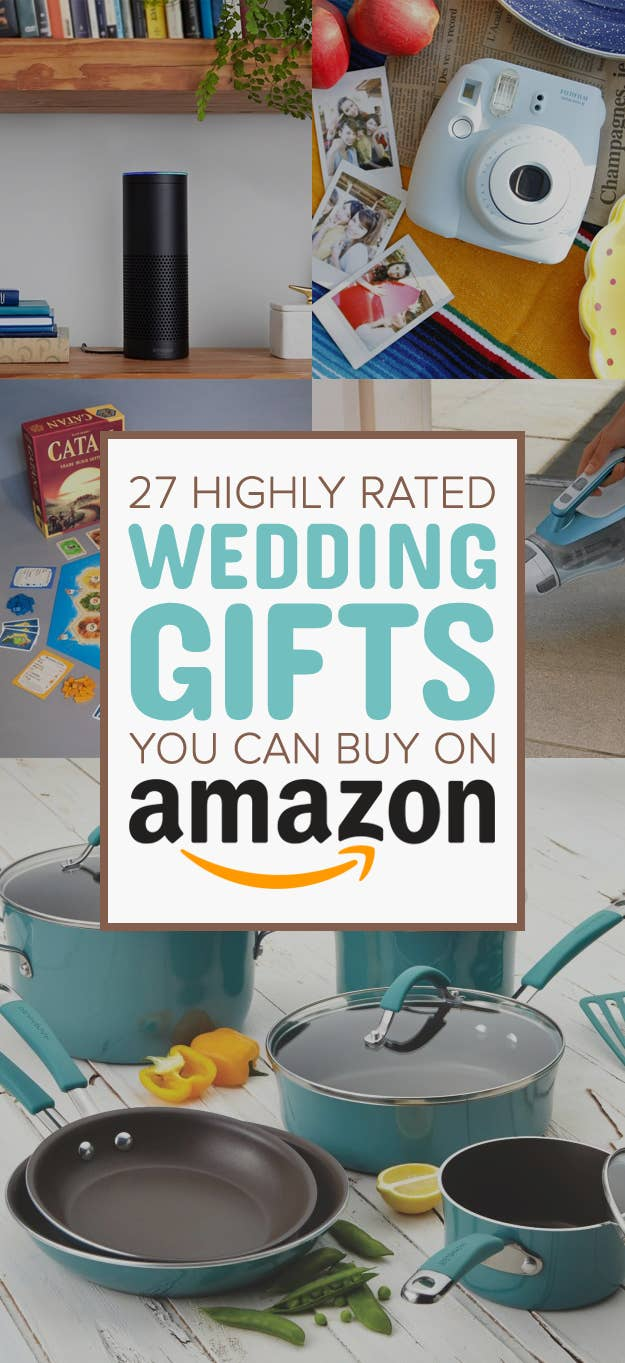 27 Of The Best Wedding Gifts You Can Get On Amazon