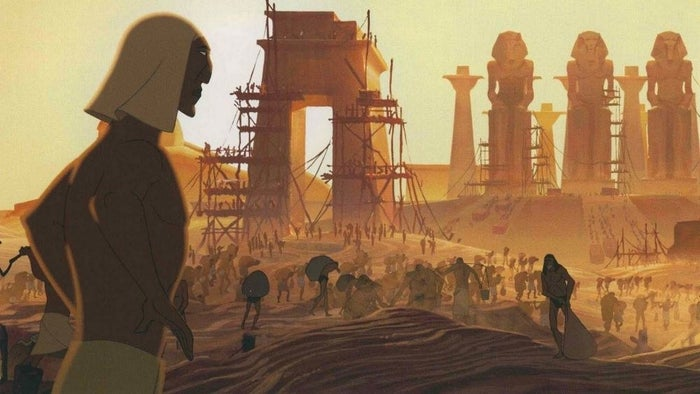 The film version of The Prince of Egypt.