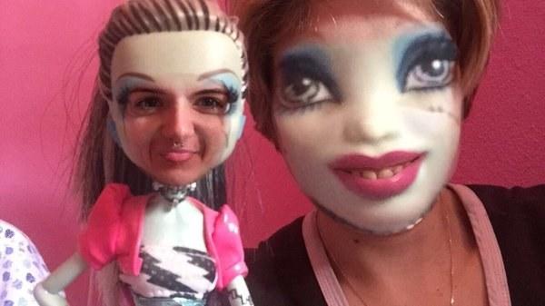 Los faceswap con muñecos fueron creados en el mismísimo infierno y necesitan ser detenidos.